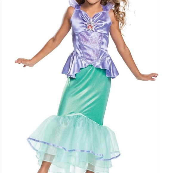 Disney Princess Ariel Costume & Wig